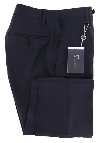 Donnanna Navy Blue Pants - 34 US / 50 EU