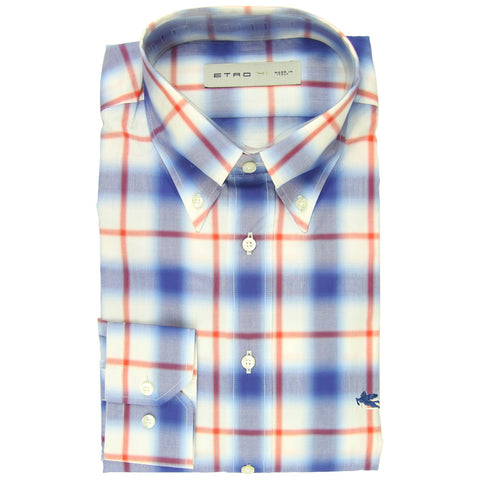 Etro Blue Shirt - Extra Slim