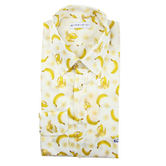 $600 Etro Yellow Banana Shirt - Extra Slim - (163654800990) - Parent