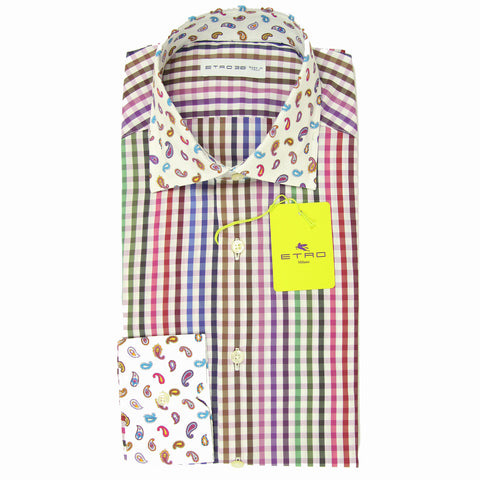 Etro Multi-Colored Shirt - Extra Slim