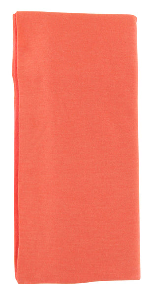 New $675 Fiori Di Lusso Orange Solid Scarf -  x  - (917)