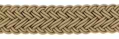 Fiori Di Lusso Beige Viscose Blend Braided Belt - (555) - Parent
