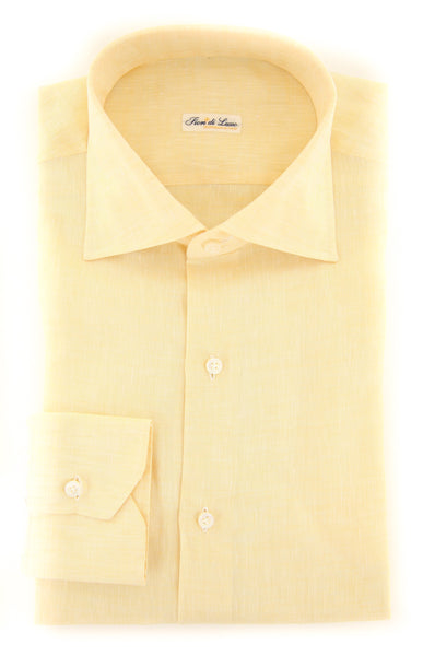 $600 Fiori Di Lusso Yellow Melange Shirt - Full - (FLP34931061WILLT) - Parent