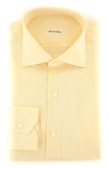 $600 Fiori Di Lusso Yellow Melange Shirt - Full - 16/41 - (FLP34931061WILLT)