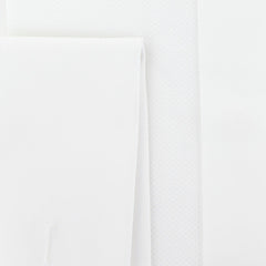 $600 Fiori Di Lusso White Tuxedo Shirt - Slim - (FLTI3767839631MFS) - Parent