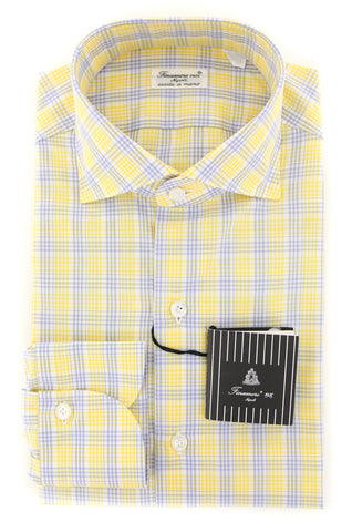 Finamore Napoli Yellow Shirt - Slim