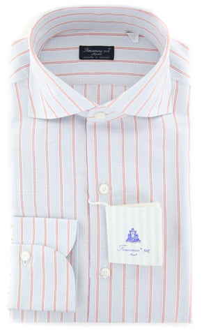 Finamore Napoli Light Blue Shirt - Slim