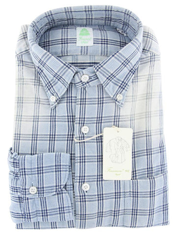 Finamore Napoli Light Blue Shirt - Extra Slim