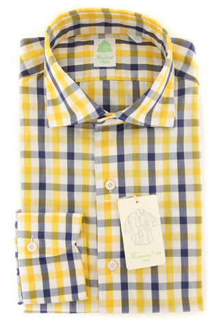 Finamore Napoli Yellow Shirt - Extra Slim
