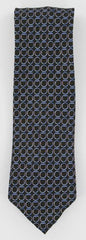 New $195 Finamore Napoli Brown Silk Tie