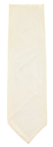 New $195 Finamore Napoli Cream Tie