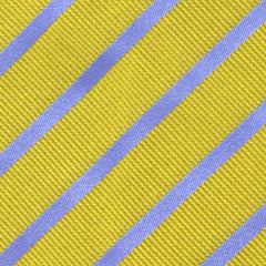 "New $195 Finamore Napoli Yellow with Purple Stripes Tie - 3.5"" Wide"