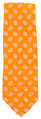 New $195 Finamore Napoli Orange Tie