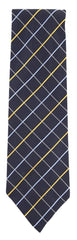 "New $195 Finamore Napoli Navy Blue Fancy Tie - 3.25"" x 56"" - (TIEFCYX239)"