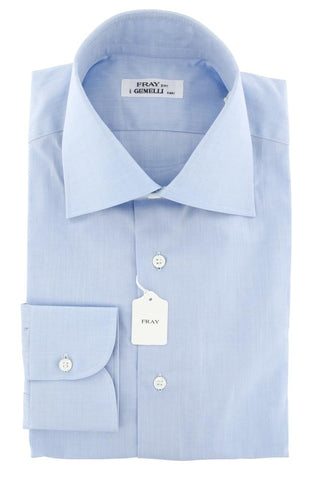 Fray Light Blue Shirt - Slim