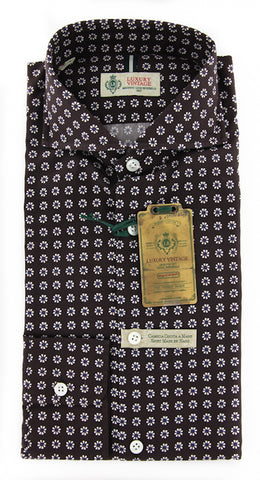 Luigi Borrelli Brown Shirt – Size: XL US / XL EU