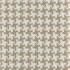 "New $195 Luigi Borrelli Beige and White - 2.5"" Wide - Tie"