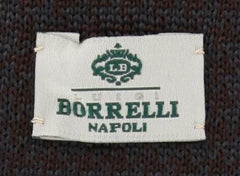 New $195 Luigi Borrelli Brown Tie