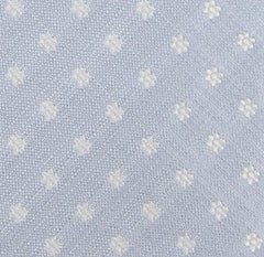 New $195 Borrelli Light Blue Tie