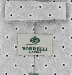 New $195 Luigi Borrelli Gray Tie
