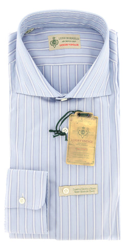 Luigi Borrelli Light Blue Shirt - Extra Slim