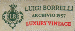 New $375 Luigi Borrelli Brown Shirt 17/43