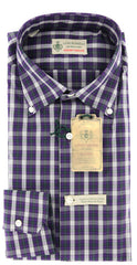 Luigi Borrelli Purple Shirt – Size: 16 US / 41 EU  Dress Shirts - ShopTheFinest- Luxury  Italian Designer Brands for men