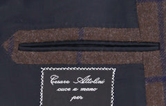 New $6400 Cesare Attolini Brown Sportcoat 43/53