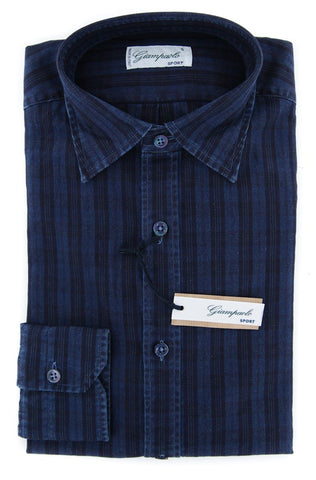 Giampaolo Dark Blue Shirt - Extra Slim