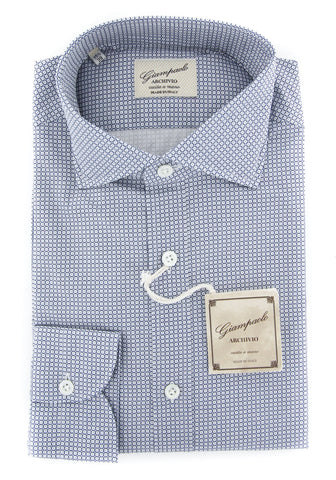 Giampaolo Navy Blue Shirt - Extra Slim