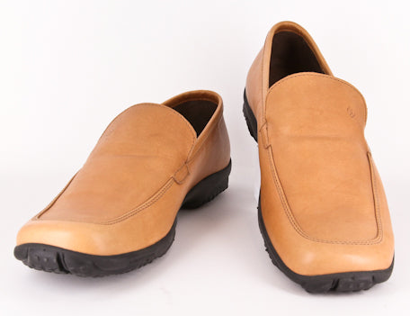 $270 Samsonite Caramel Brown Shoes - Driver - Size 9 (US) / 8 (EU)