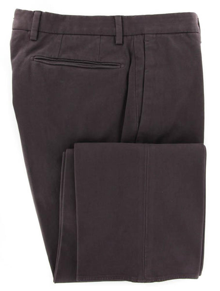 New $400 Incotex Brown Solid Pants - Extra Slim - 30/46 - (1AGW3040802630)