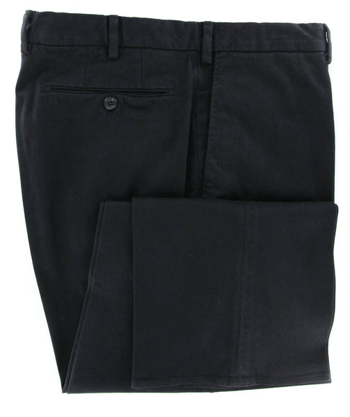 New $425 Incotex Midnight Navy Solid Pants - Slim - 44/60 - (1AGW3540766990)