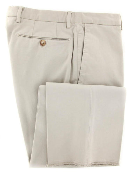 New $425 Incotex Beige Solid Pants - Slim - 44/60 - (1AGW3540776900)