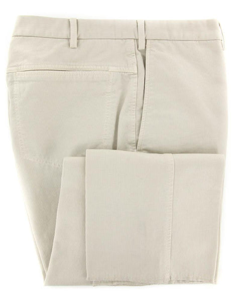 New $400 Incotex Beige Solid Pants - Slim - 44/60 - (1AW0184005821)