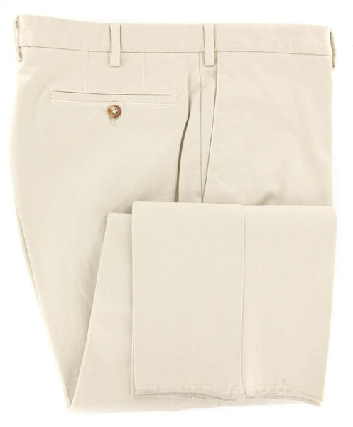 New $375 Incotex Beige Solid Pants - Slim - 46/62 - (1AW35S4076917)