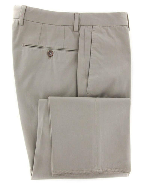 New $425 Incotex Beige Solid Pants - Extra Slim - 44/60 - (1GWT3920853420)