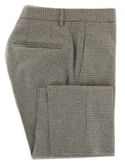 $475 Incotex Beige Check Wool Blend Pants - Slim - (897) - Parent