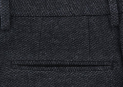 New $475 Incotex Dark Gray Fancy Pants - Extra Slim - (S0G0305844935) - Parent
