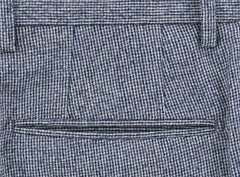 $475 Incotex Light Gray Solid Wool Pants - Slim - (893) - Parent