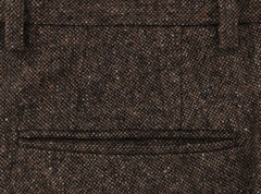 New $475 Incotex Brown Solid Pants - Extra Slim - (S0T030620) - Parent