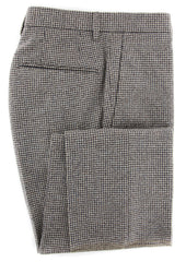New $475 Incotex Cream Micro-Houndstooth Pants - Slim - (KT1113175) - Parent