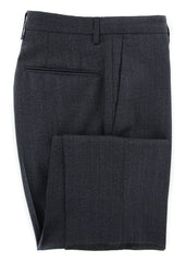 New $475 Incotex Charcoal Gray Solid Pants - Slim - 36/52 - (IN1117174)
