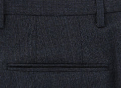 New $475 Incotex Charcoal Gray Solid Pants - Slim - (IN1117174) - Parent