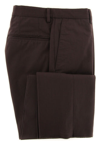 Incotex Caramel Brown Pants