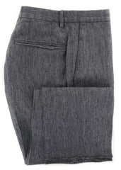 $375 Incotex Gray Melange Pants - Slim - (IN-S0W030-6019-930) - Parent