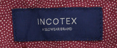 New $375 Incotex Midnight Navy Blue Solid Pants - Slim - (IN1121173) - Parent