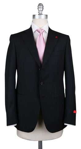 Isaia Black Suit