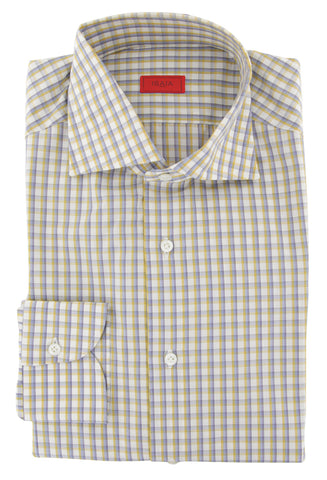Isaia Yellow Shirt - Slim
