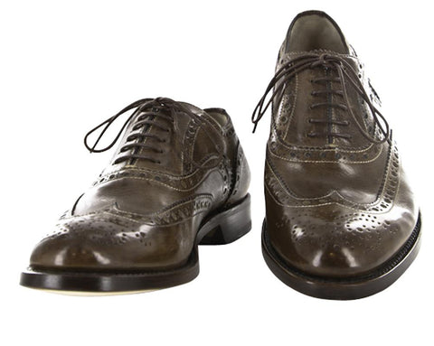 Santoni Brown Shoes – Size: 7 US / 6 UK